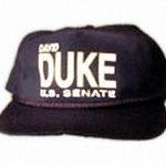 DAVID DUKE FOR U.S. SENATE HAT